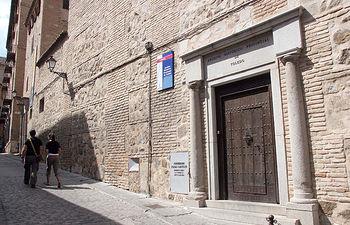 Imagen del Archivo Histórico Provincial de Toledo, donde podrán trabajar los beneficiarios del programa de becas puesto en marcha por la Consejería de Cultura.