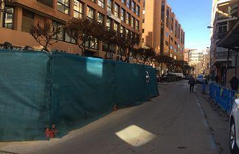 Tinajas en calle Albarderos.