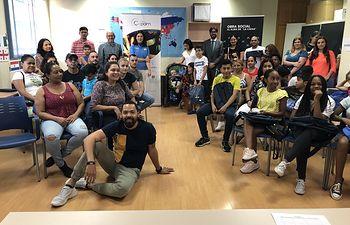 """La Obra Social """"la Caixa"""" ha facilitado un total de 5.000  kits de material escolar a niños y niñas de Castilla –La Mancha."""