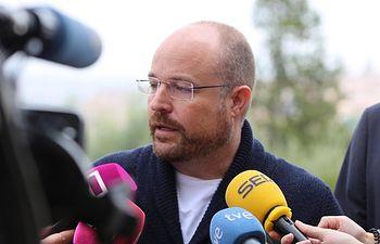 Alejandro Ruiz, presidente del Grupo Parlamentario Ciudadanos.
