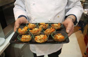 El tradicional 'Atascaburras' protagoniza la degustación de productos del Día de Albacete, en FITUR