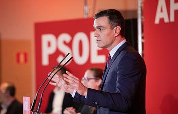 Pedro Sánchez presenta la campaña electoral del PSOE para el 10N. Foto: EVA ERCOLANESE