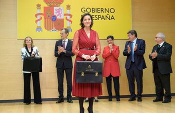 Reyes Maroto toma posesión de la cartera del Ministerio de Industria, Comercio y Turismo. Foto: COPYRIGHT