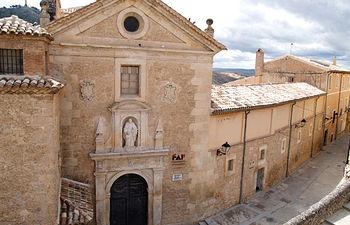 Antiguo Convento de las Carmelitas Descalzas, sede del Centro de Arte Contemporáneo Fundación Antonio Pérez.