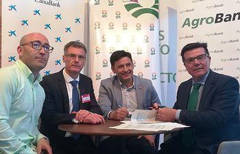 Convenio Agrobank UPA CLM.