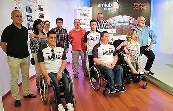 Francisco Navarro destaca el trabajo y compromiso del AMIAB CLUB BSR en la presentación del equipo para la temporada 2018/19