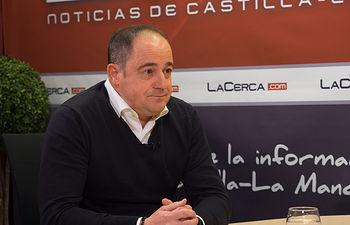 Emilio Sáez, coordinador provincial del grupo de trabajo en apoyo a la próxima candidatura de Susana Díaz a la Secretaría General del Partido Socialista