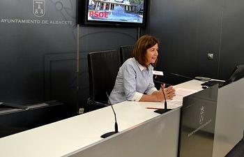 La concejala del Grupo Municipal Socialista Marisa Sánchez