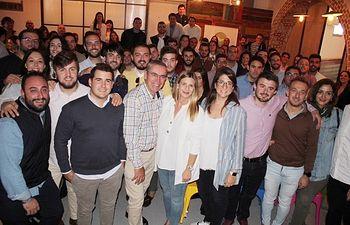 NNGG C-LM presenta a sus 13 candidatos jóvenes al Congreso y al Senado junto a Carolina Agudo