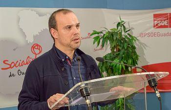 Pablo Bellido, secretario PSOE Guadalajara.