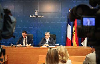 El Gobierno regional renueva y amplía el convenio con la Embajada de Francia en materia de educación. Foto: JCCM.