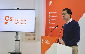 Julio Comendador, diputado provincial de Ciudadanos .