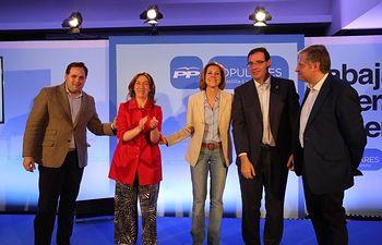 Acto de presentación de los candidatos a las Cortes de Castilla-La Mancha.
