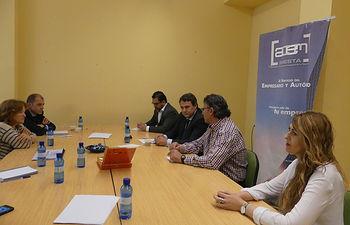 Reunión en ACEM.