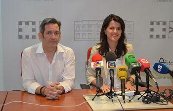 Manuel de la Guía y María Jesús Pelayo.