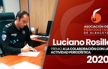 Luciano Rosillo, Premio a la Colaboración con la Actividad Periodística 2020.