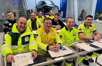 Cursos seguridad vial Ambulancias Finisterre.