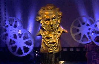 Imagen de archivo de una edición anterior de los Premios Goya.