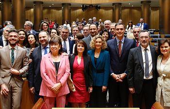 Intervención de Pedro Sánchez ante el Grupo Parlamentario Socialista.