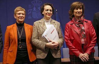 Magdalena Valerio ha presentado el Presupuesto del Ministerio de Trabajo, Migraciones y Seguridad Social para 2019.