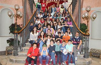 El Colegio Público Jiménez de Córdoba de Villarrobledo visita el Palacio de la Diputación Provincial de Albacete
