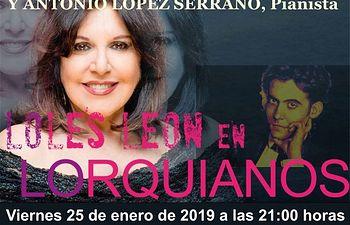 Loles León protagonizará en Valdepeñas un tributo poético a García Lorca - Valdepeñas
