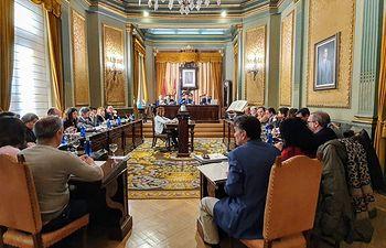 Pleno Diputación de Albacete.