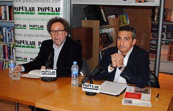 Joaquín Aparicio junto a Manuel Ortiz