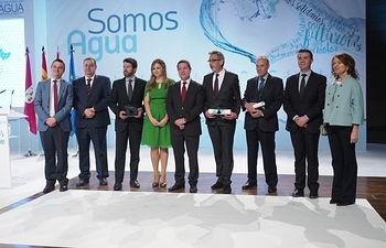 Acto del Día Mundial del Agua celebrado en Albacete.