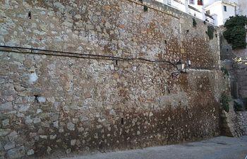 Foto muro del Jardín de los Poetas .