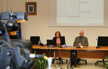 AEMET rueda prensa predicción estacional. Foto: Ministerio de Agricultura, Alimentación y Medio Ambiente