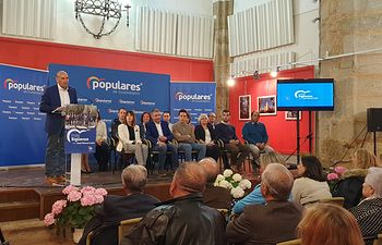Presentación candidatura del PP de Sigüenza.