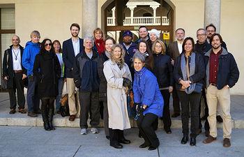 Coordinadores de estudios de Ciencias de la Salud en quince universidades estadounidenses durante su visita a la UCLM.