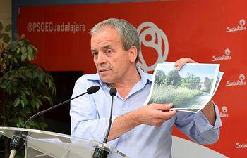 Julio García, portavoz socialista de la Diputación de Guadalajara.