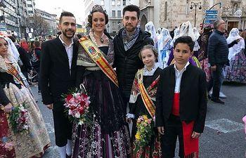 Las Fiestas Mayores de Almansa presentes un año más en las Fallas de Valencia.