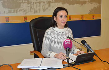 María Rodríguez, portavoz del equipo de Gobierno. Foto: Ayuntamiento de Talavera de la Reina.