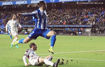 RC Deportivo de La Coruña - Albacete Balompie. Foto twitter @RCDeportivo