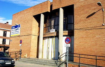 Centro de Salud de Azuqueca de Henares.