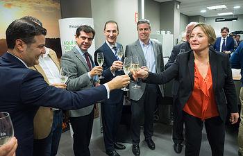 Inauguración de la Oficina de Agrobank en Albacete