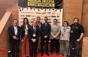 Novena edición del congreso de ciberseguridad 'Navaja Negra'.