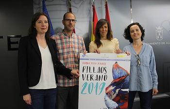 """María Gil presenta """"Pillaos por el verano 2019"""""""