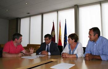 CCOO se ha reunido con el Delegado de la Junta en Toledo