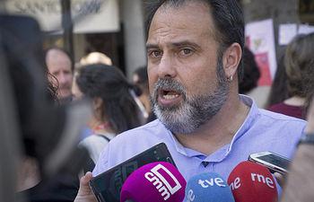 Javier Mateo, portavoz de Ganemos Toledo.