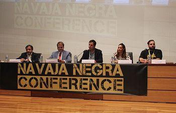 Inauguración del congreso Navaja Negra.