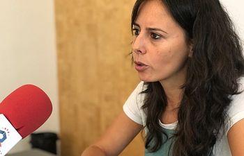 Nieves Peinado, portavoz de Unidas Podemos Ciudad Real.
