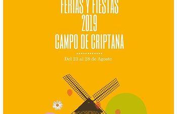 Cartel Feria de Campo de Criptana 2019.