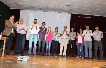 Paco Núñez, con la candidatura del PP de Villamalea.