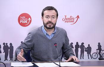 José Luis Escudero. Foto: PSOE CLM.