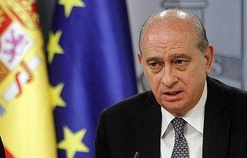 El ministro del Interior, Jorge Fernández Díaz. (Foto archivo)