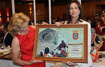 Rosa Romero en la celebración de San Isidro
